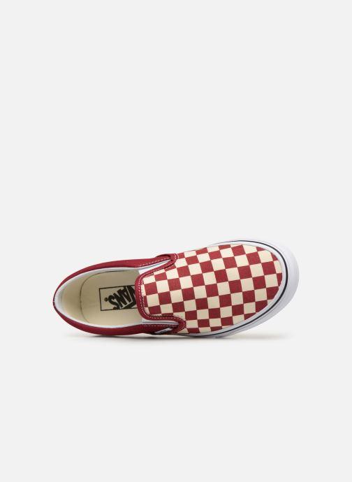 on Vans Classic Slip Red WcheckerboardRumba White true 1JFcKl