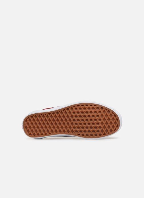 Baskets Vans Classic Slip-On W Rouge vue haut