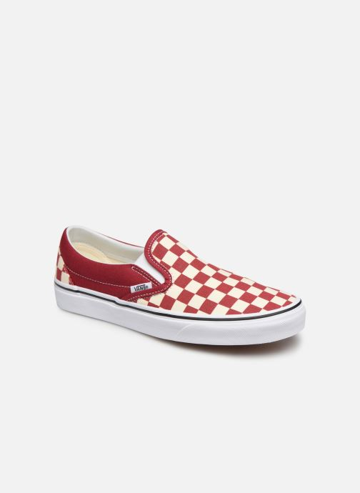 Vans Classic Slip-On W (Rouge) - Baskets chez Sarenza (358921)