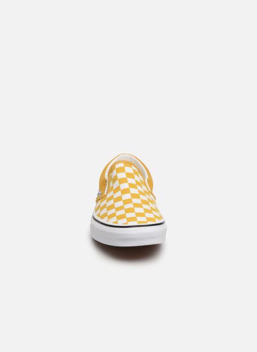 Baskets Vans Classic Slip-On W Jaune vue portées chaussures