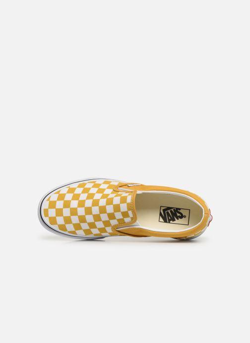 Baskets Vans Classic Slip-On W Jaune vue gauche