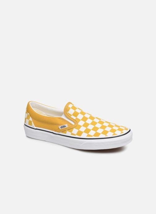 Vans Classic Slip On Yellow Shoes