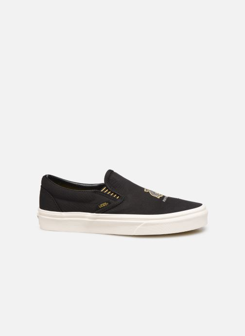 Sneakers Vans Classic Slip-On W Zwart achterkant