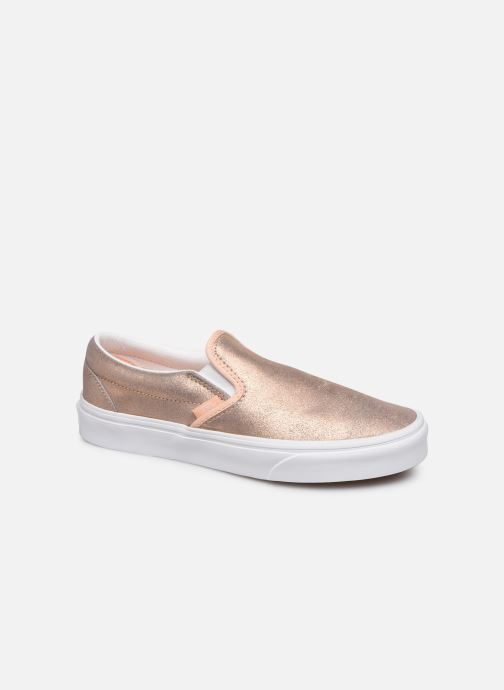 Vans Classic Slip On W (Rose) Baskets chez Sarenza (396921)
