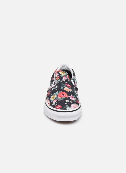 Baskets Vans Classic Slip-On W Noir vue portées chaussures