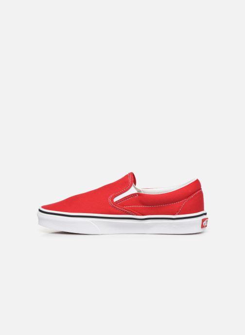 Sneakers Vans Classic Slip-On W Rood voorkant