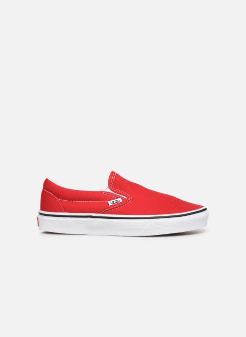 Sneakers Vans Classic Slip-On W Rood achterkant