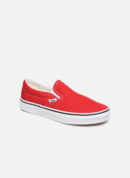 Sneakers Vans Classic Slip-On W Rood detail