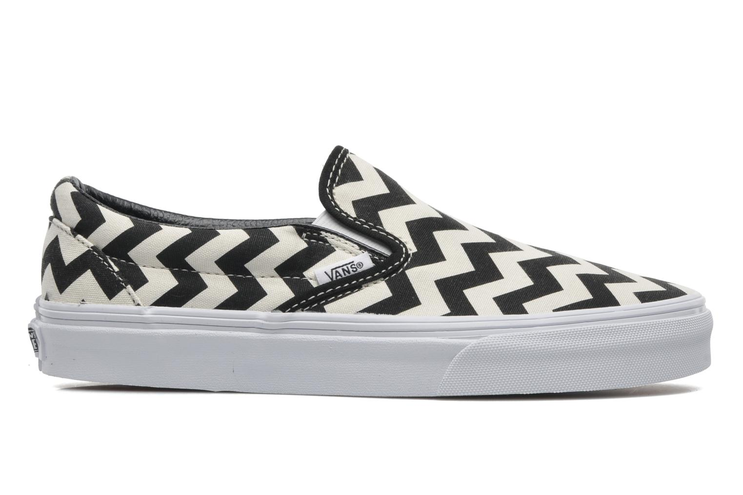 Trainers Vans Classic Slip-On W White back view