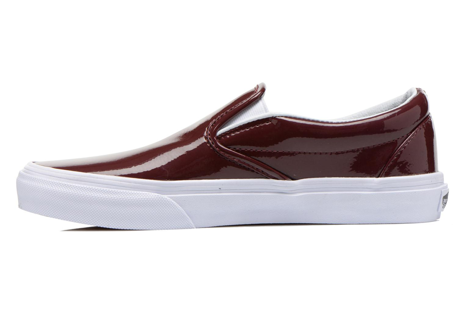 Baskets Vans Classic Slip-On W Bordeaux vue face