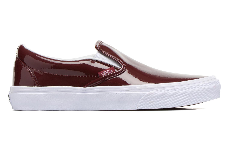 Sneaker Vans Classic Slip-On W weinrot ansicht von hinten