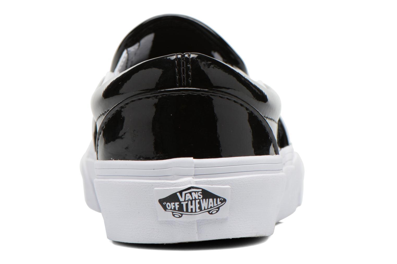 Baskets Vans Classic Slip-On W Noir vue droite