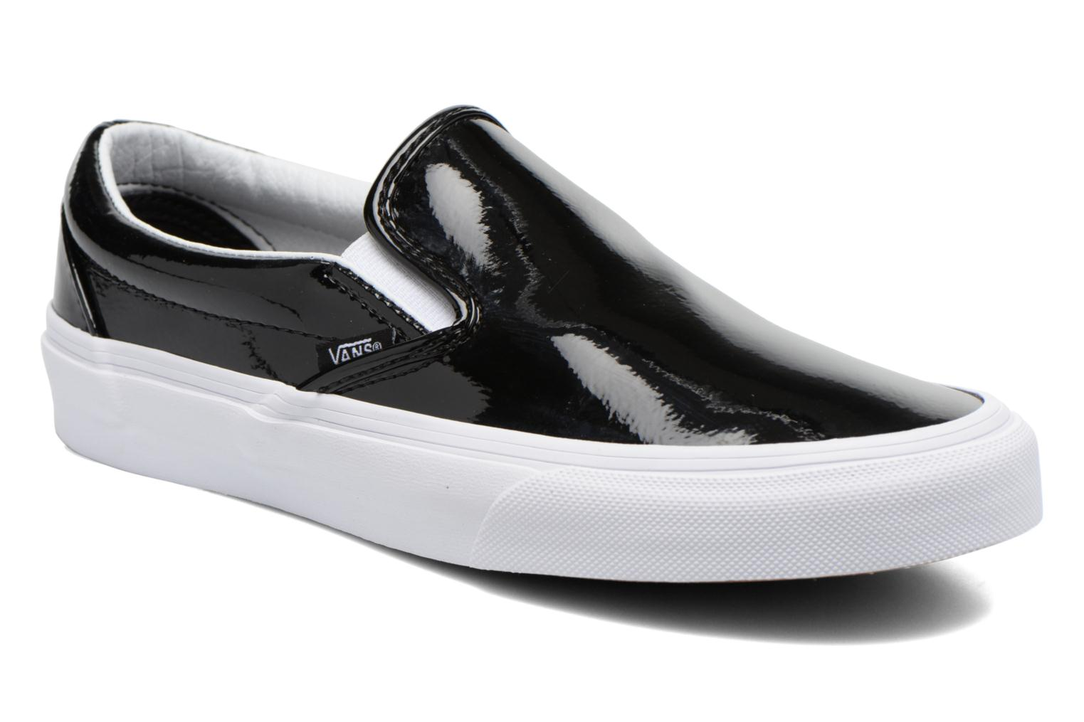 Sneakers Vans Classic Slip-On W Zwart detail