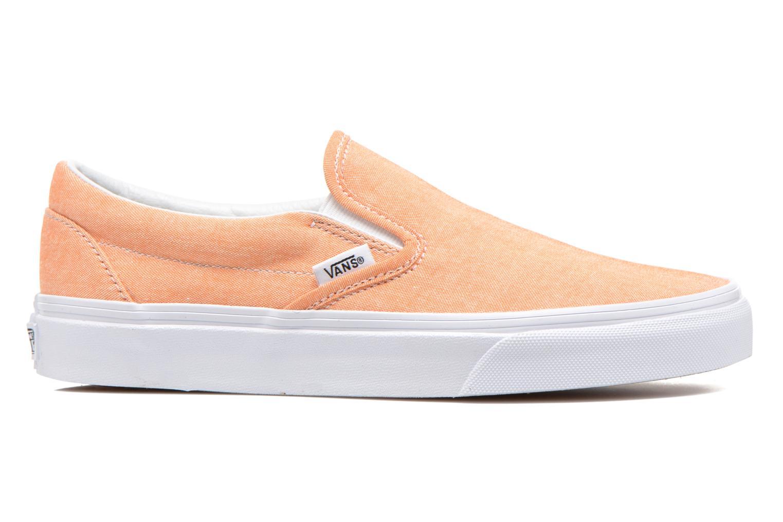 Baskets Vans Classic Slip-On W Orange vue derrière