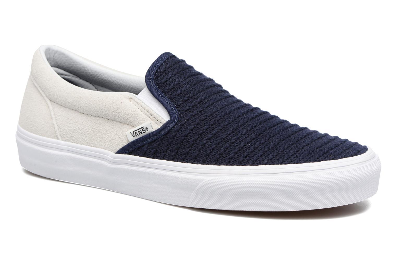 Baskets Vans Classic Slip-On W Bleu vue détail/paire