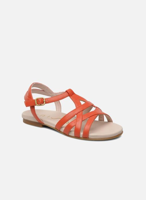 Sandals Unisa LUPI CP Pink detailed view/ Pair view