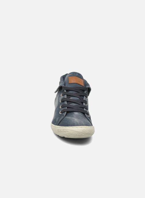 Sneakers P-L-D-M By Palladium Gaetane Twl Azzurro modello indossato