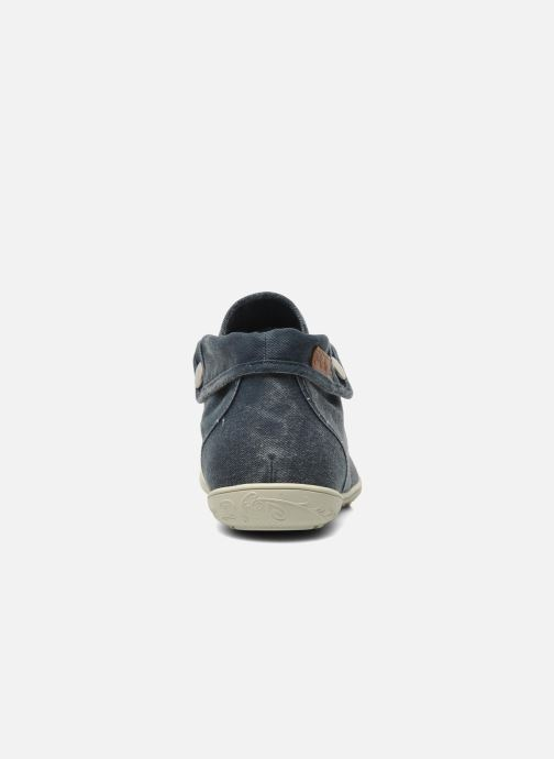Sneakers P-L-D-M By Palladium Gaetane Twl Azzurro immagine destra