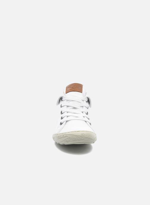 Sneakers P-L-D-M By Palladium Gaetane Twl Bianco modello indossato