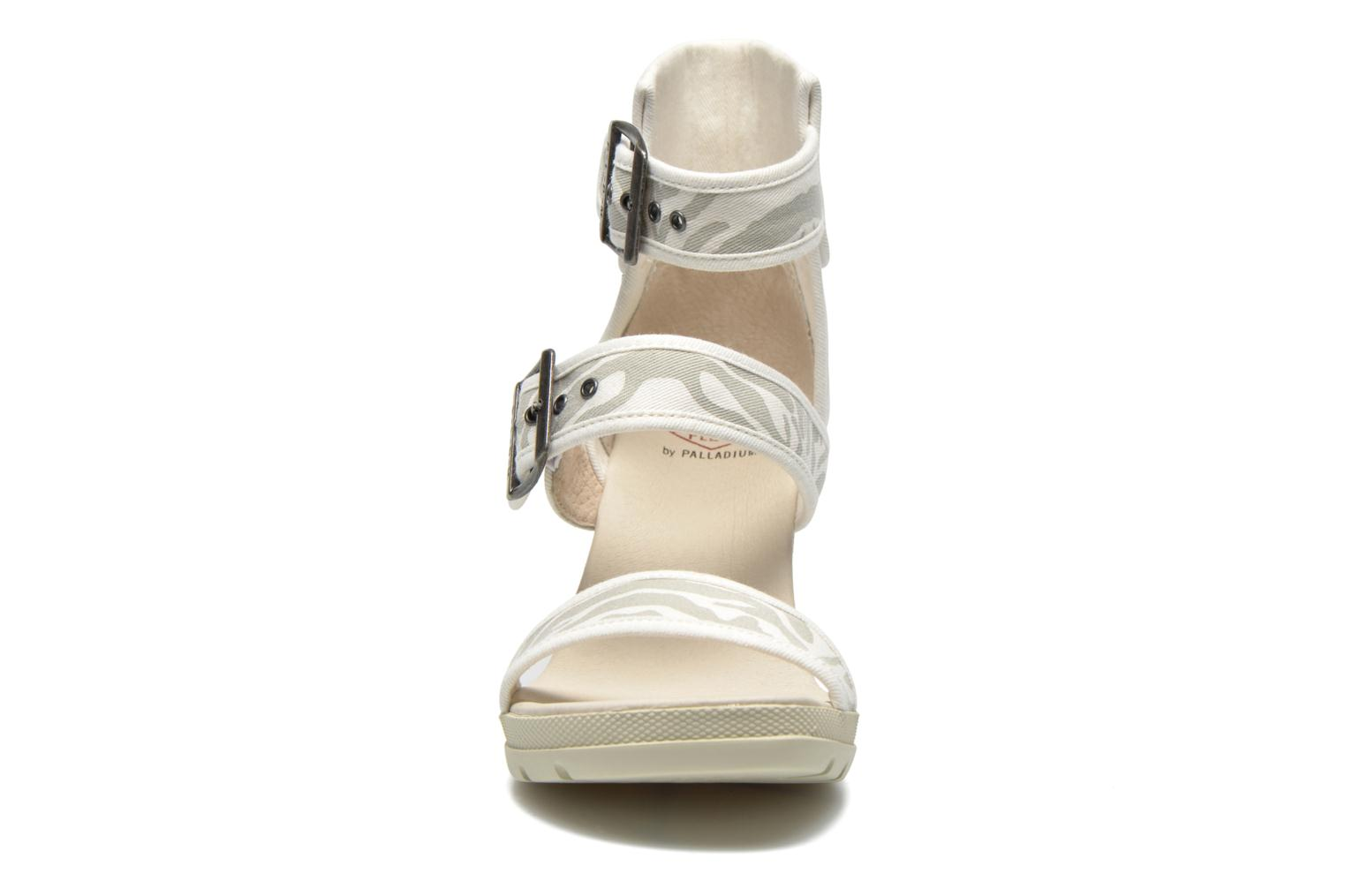 Sandals P-L-D-M By Palladium Starlet Print Grey model view