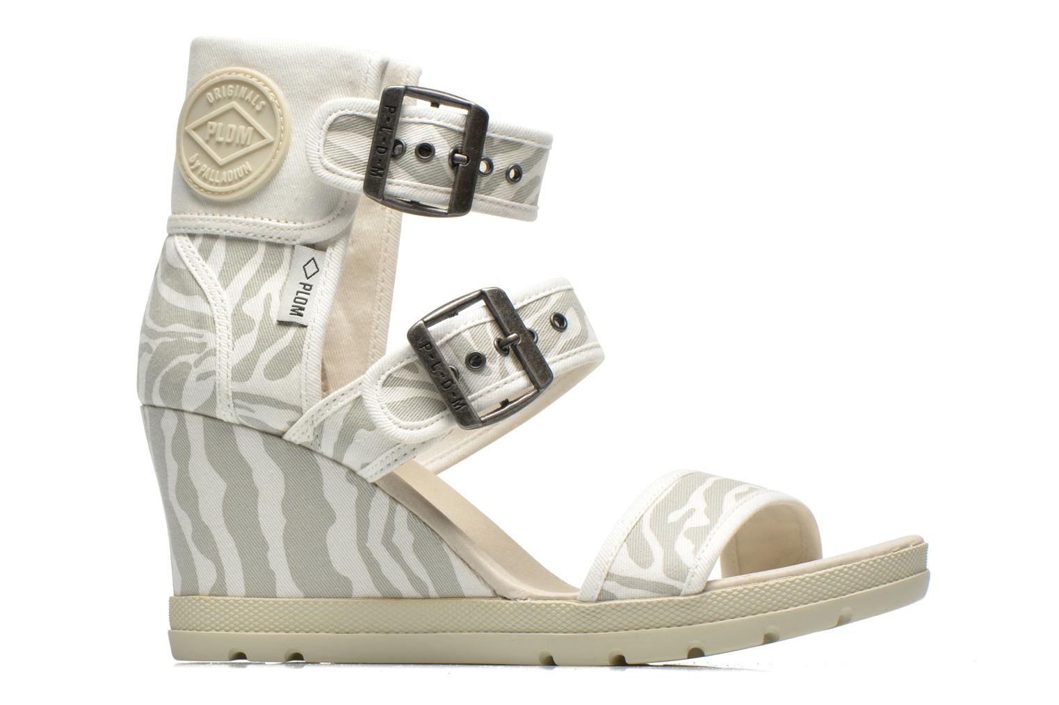 Sandals P-L-D-M By Palladium Starlet Print Grey back view