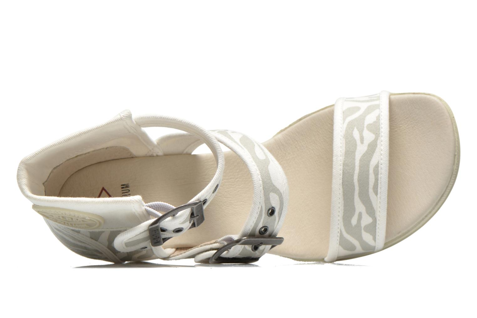 Sandals P-L-D-M By Palladium Starlet Print Grey view from the left