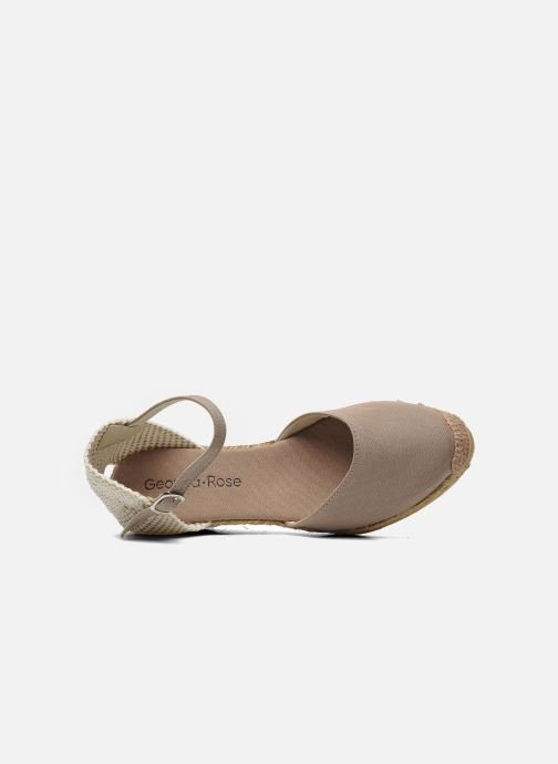 Sandals Georgia Rose Ipona Beige view from the left