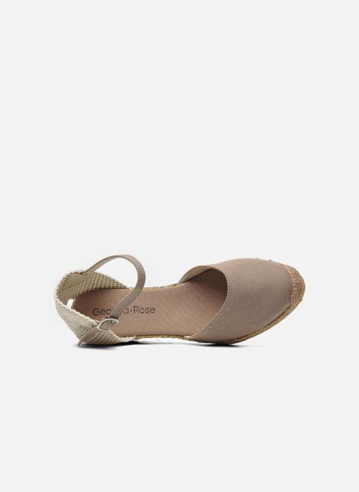 Sandales et nu-pieds Georgia Rose Ipona Beige vue gauche