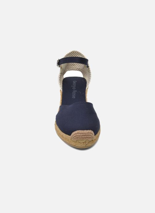 Sandalen Georgia Rose Ipona blau schuhe getragen