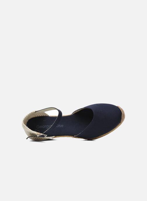Sandales et nu-pieds Georgia Rose Ipona Bleu vue gauche