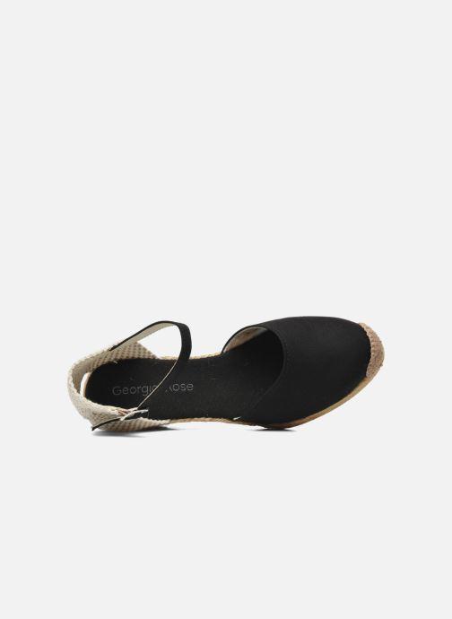 Sandali e scarpe aperte Georgia Rose Ipona Nero immagine sinistra
