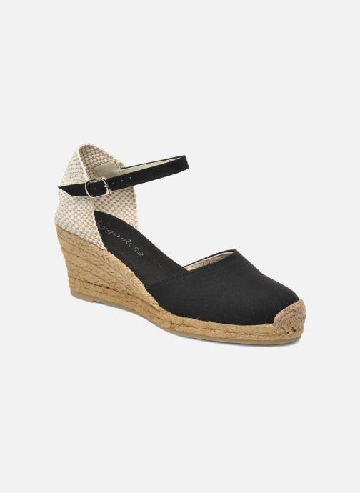 Sandaler Georgia Rose Ipona Sort detaljeret billede af skoene