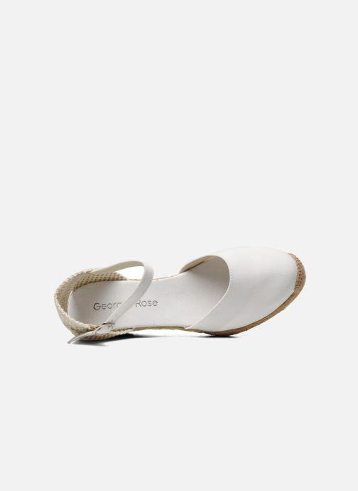 Sandali e scarpe aperte Georgia Rose Ipona Bianco immagine sinistra