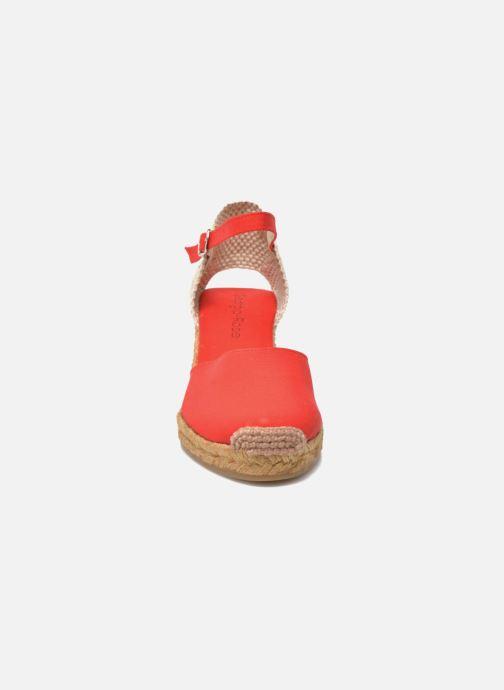 Sandales et nu-pieds Georgia Rose Ipona Rouge vue portées chaussures