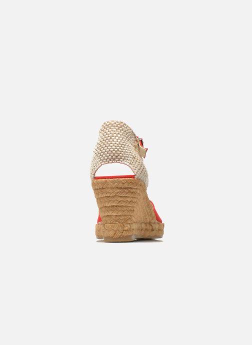 Sandales et nu-pieds Georgia Rose Ipona Rouge vue droite