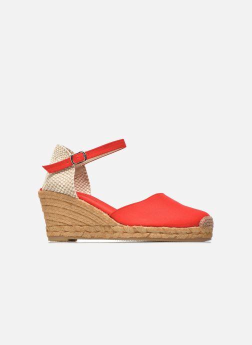 Sandales et nu-pieds Georgia Rose Ipona Rouge vue derrière