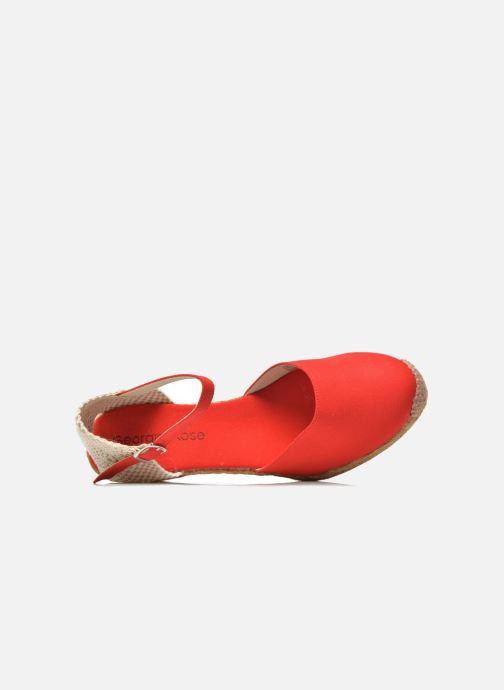Sandali e scarpe aperte Georgia Rose Ipona Rosso immagine sinistra