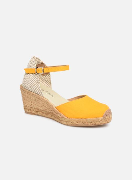 Sandales et nu-pieds Georgia Rose Ipona Jaune vue détail/paire