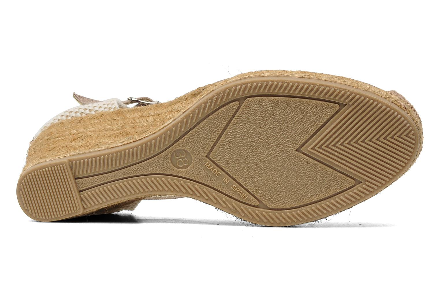 Sandals Georgia Rose Ipona Beige view from above