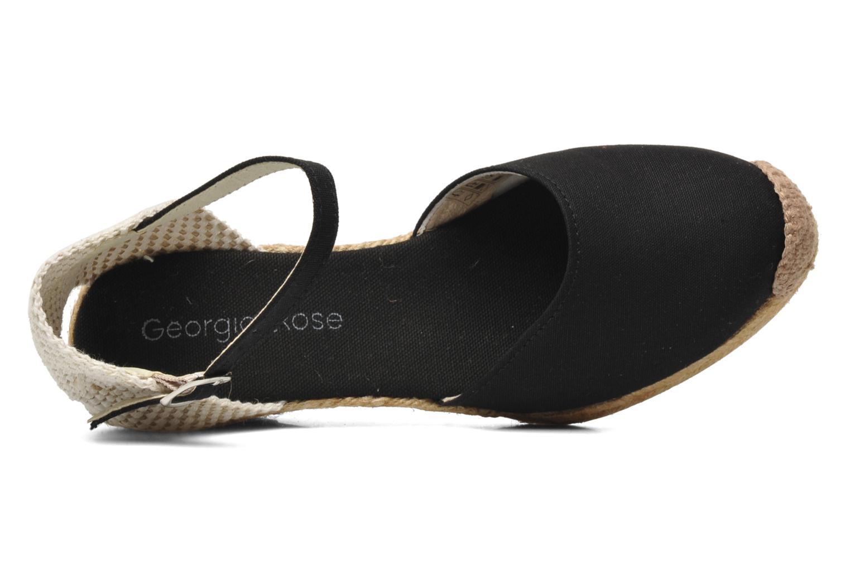 Sandales et nu-pieds Georgia Rose Ipona Noir vue gauche