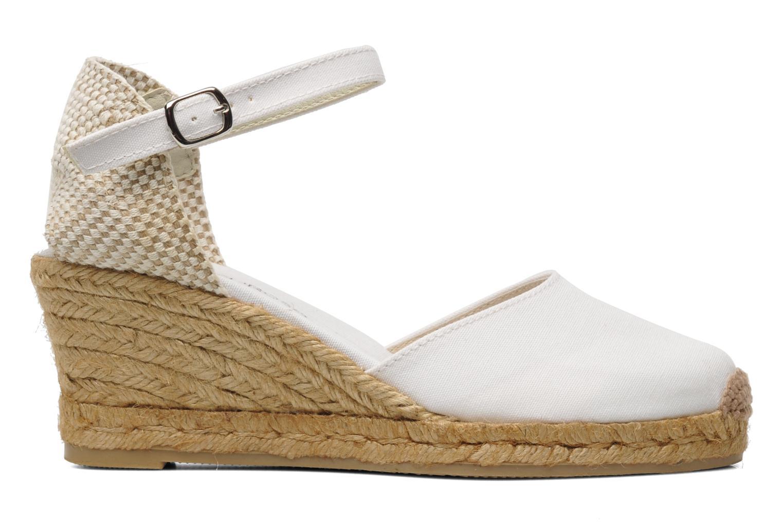 Sandales et nu-pieds Georgia Rose Ipona Blanc vue derrière