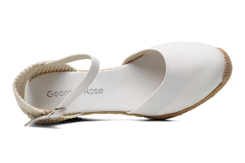 Sandales et nu-pieds Georgia Rose Ipona Blanc vue gauche