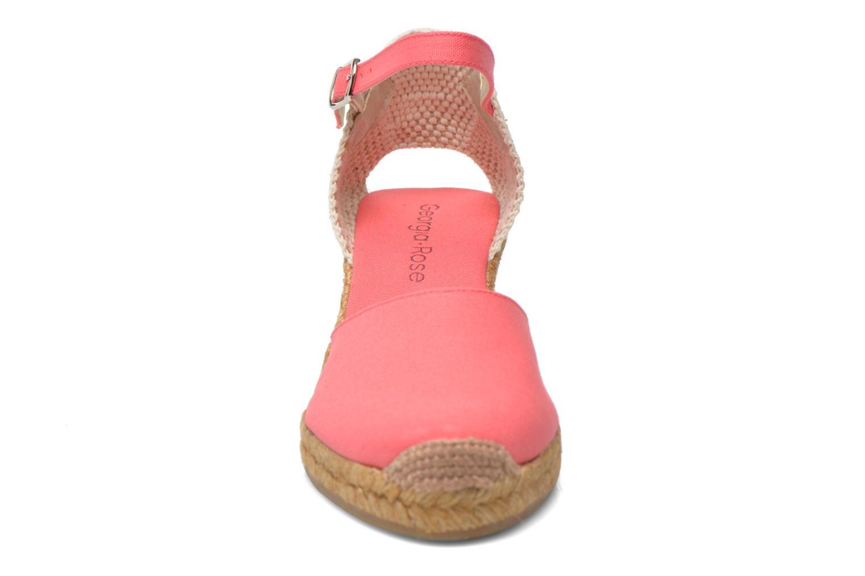 Sandales et nu-pieds Georgia Rose Ipona Rose vue portées chaussures