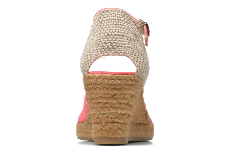 Sandales et nu-pieds Georgia Rose Ipona Rose vue droite