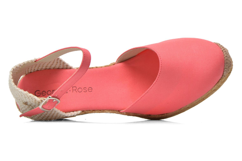 Sandales et nu-pieds Georgia Rose Ipona Rose vue gauche