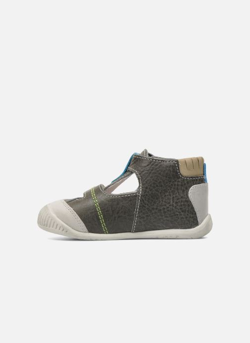 Ankle boots Babybotte PAVEL Grey front view