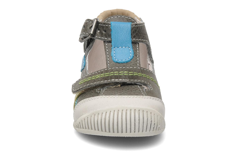 Bottines et boots Babybotte PAVEL Gris vue portées chaussures