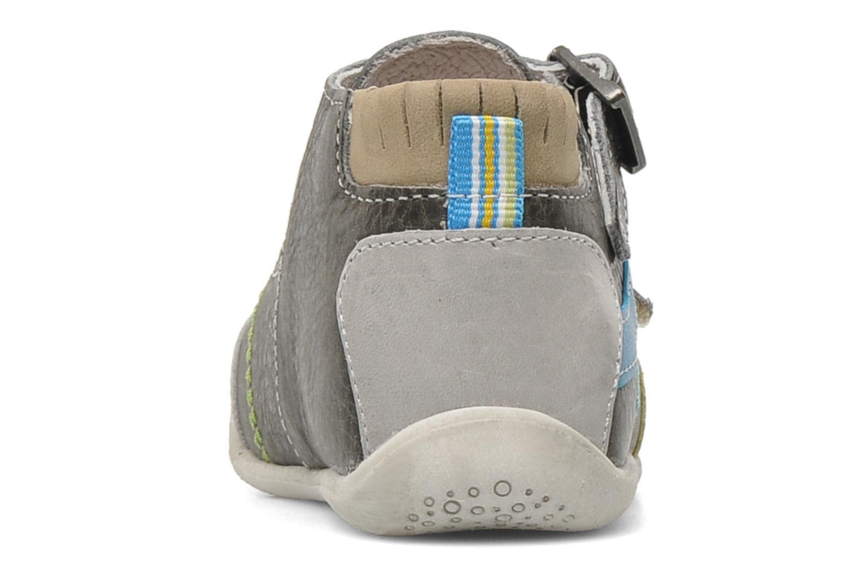 Bottines et boots Babybotte PAVEL Gris vue droite