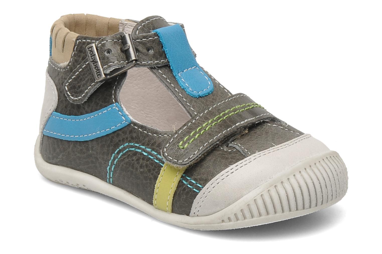 Bottines et boots Babybotte PAVEL Gris vue détail/paire