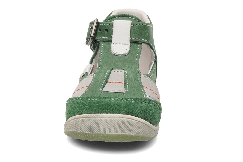 Sandales et nu-pieds Babybotte PANPI Vert vue portées chaussures